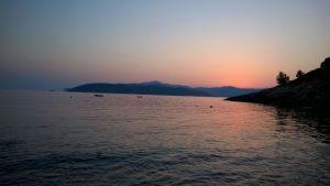 The sea of Elba