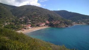 The sea of Elba
